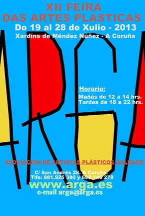 Inauguración de la XII Feira das Artes Plásticas de A Coruña