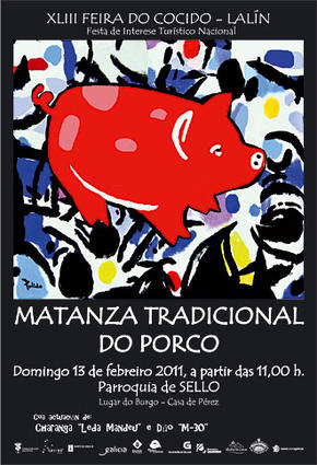 Matanza Tradicional do Porco, Lalín