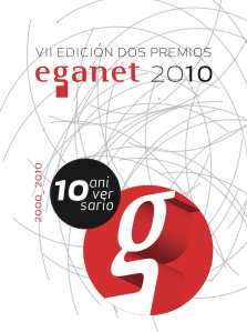 VII EDICIÓN DOS PREMIOS EGANET 2010