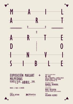 INAUGURACIÓN DE LA EXPOSICIÓN: MAIL ART O EL ARTE DE LO INVISIBLE | EL EVENTO |