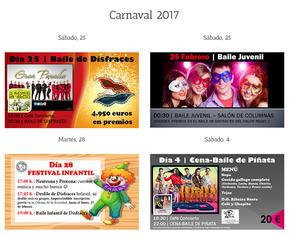 Carnaval (Entroido) en el Círculo de las Artes de Lugo