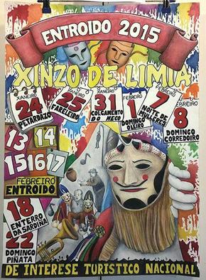 ENTROIDO EN XINZO DE LIMIA, Domingo de Entroido