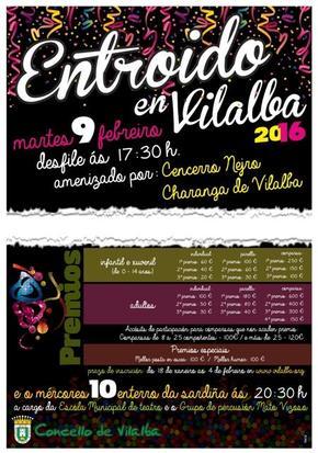 Entroido en Vilalba