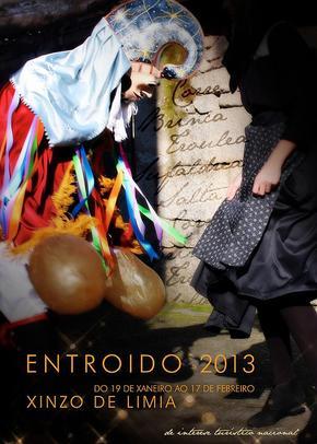 ENTROIDO EN XINZO DE LIMIA: Domingo de Piñata