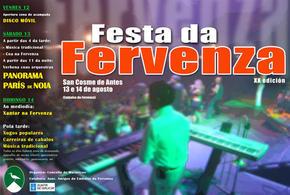 Festa da Fervenza en San Cosme de Antes