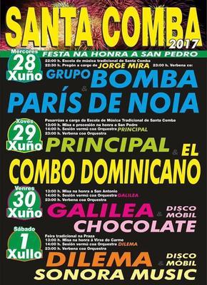 FESTAS PATRONAIS DE SAN PEDRO en Santa Comba