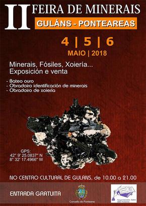 Feira de minerais de Guláns-Ponteareas