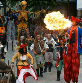Festival de Pasarrúas de Pontevedra, iTiNERANTA