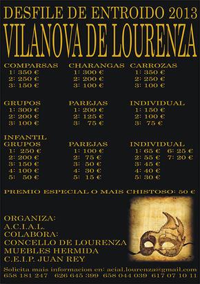Entroido en Vilanova de Lourenzá