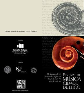 Festival de Música Cidade de Lugo 2012 - XL Semana de Música do Corpus