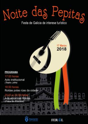 Noite das Pepitas en Ferrol