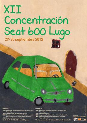 Concentración Seat 600 - Lugo,