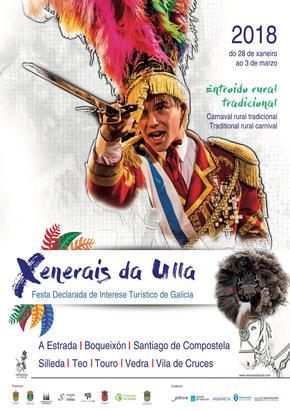 Xenerais da Ulla en Santeles, A Estrada,