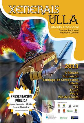 Xenerais da Ulla en Santiago de Compostela ( Presentación)